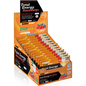 NAMEDSPORT Total Energy Recovery Isodrink Zakjes 16x40g, Red Fruit